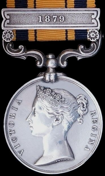 South Africa Medal 1877 - 1879 Zulu and Basuto Wars