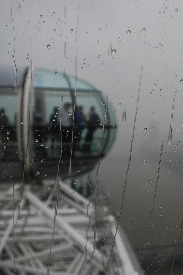 Source: blocklist - view of the rain from the London Eye