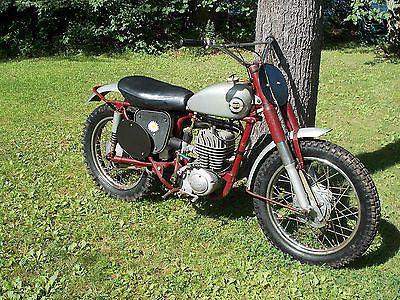 Vintage james Motorcycles for Sale   James Villiers Vintage Scrambler Ahrma Motocross -
