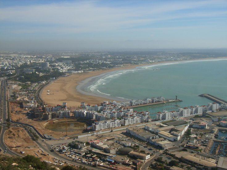 A great #panorama of #Agadir, #Morocco.
