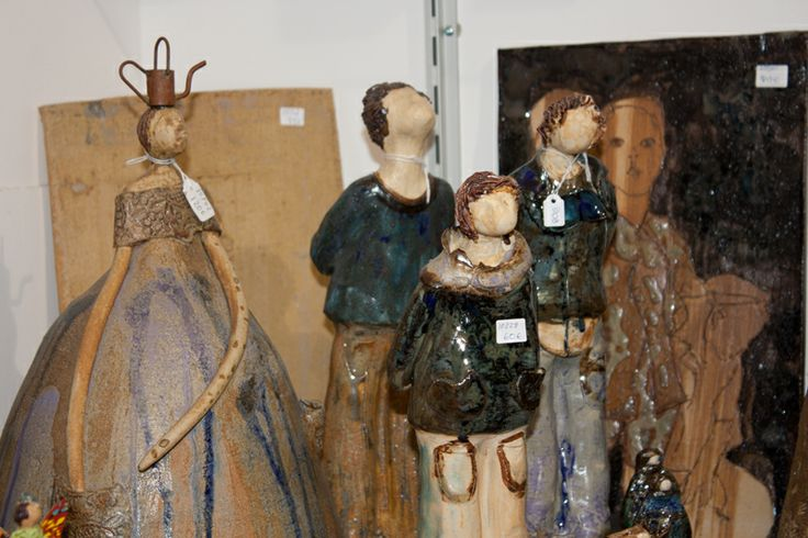 Figuras de cerámica.