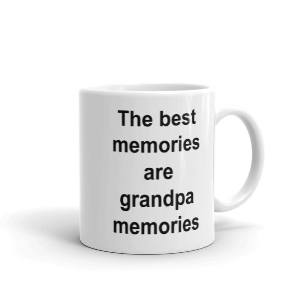 The best memories are grandpa memories Mug //FREE Shipping //     #quotemugs