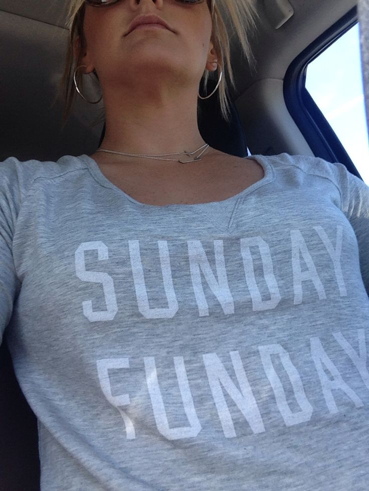 Old Navy Sunday Funday Shirt!