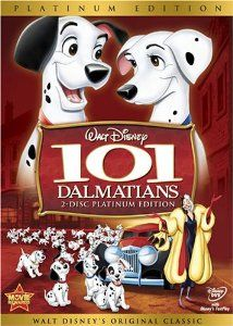 Cruella De Vil, Disney s most outrageous villain, sets the fur-raising adventure in motion when she dognaps all of Pongo and Perdita s puppies. Through the power of the Twilight Bark, Pongo leads a heroic cast of animal characters on a quest across London to rescue them.  - - - http://clipartmountain.com/StrandsOfWeb/my_movies1.htm