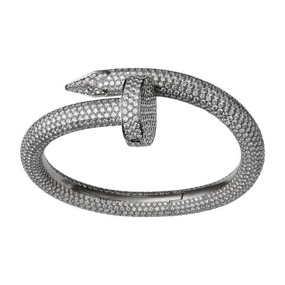 Cartier nail bracelet | Bracelet and Bangles | Pinterest ...