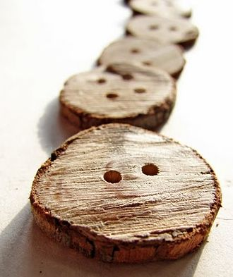 Introducing- branch buttons. Imagine these added to pillows and decor and [insert any cute craft idea]. I MUST make these!