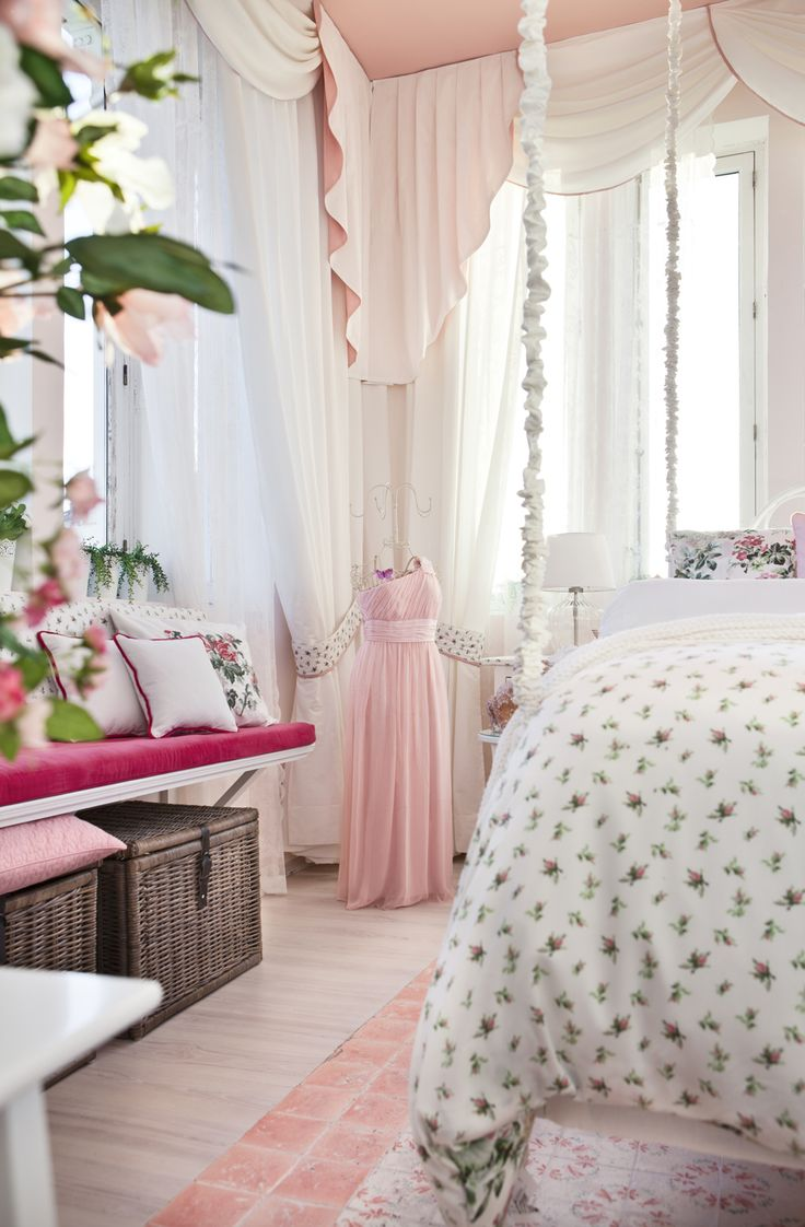 200 best pretty pretty pink / bedrooms images on pinterest