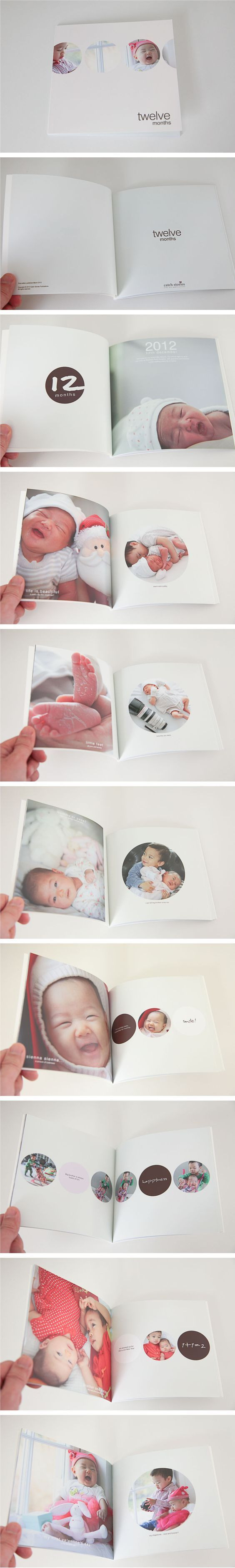A clean and fun photobook design...: