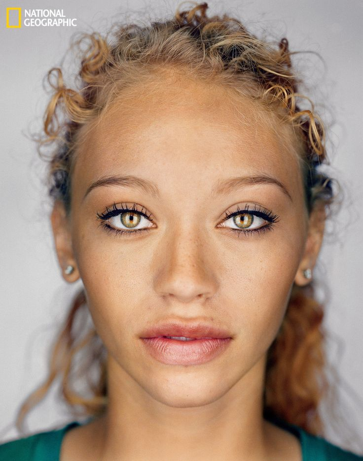 The average American circa 2060? Courtesy of National Geographic. Photograph by Martin Schoeller. We can only hope we all look like this in 50 year's time.