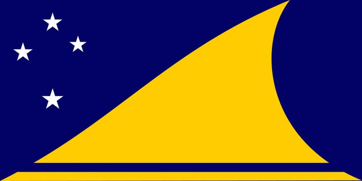 National flag of Tokelau from http://www.flagsinformation.com/tokelau-country-flag.html
