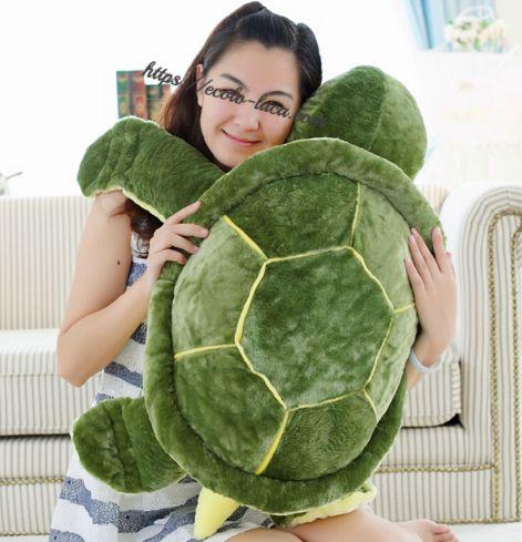 Soft Plush Tortoise Pillow Huge Size – Ecolo.luca