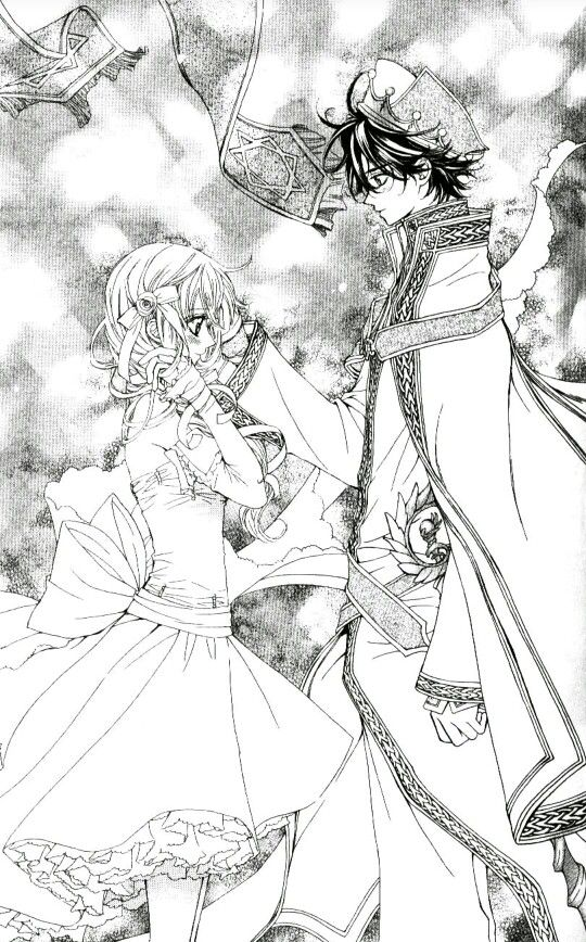 My princess ~ MeruPuri manga - Aram & Airi