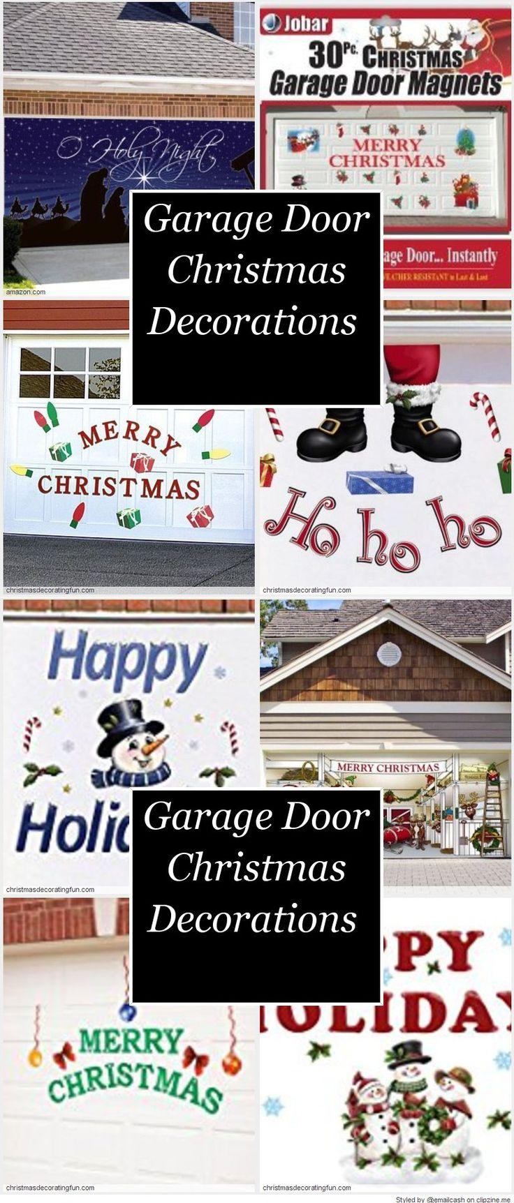 Garage door christmas decorations - Garage Door Christmas Decorations