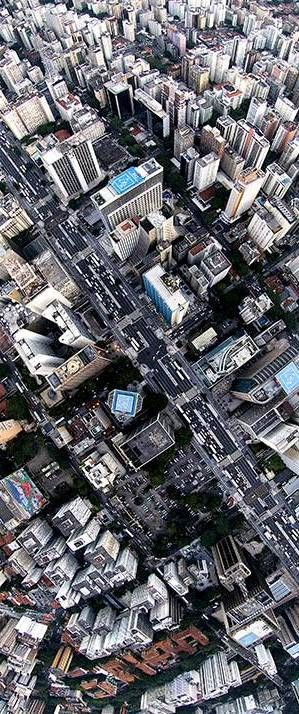 São Paulo City Aerial - Brazil (Thx Cristina)