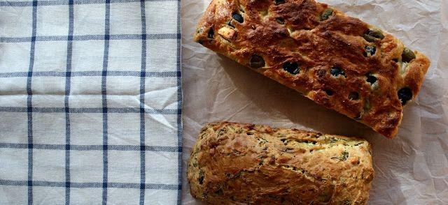 Hartige Cake Met Feta En Olijven (ongeveer 8a10 Plakken) recept | Smulweb.nl