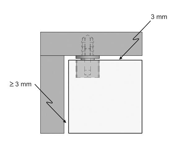 swing hinge bonded inside glass door hinges furniture fittings for uv bonding hardware