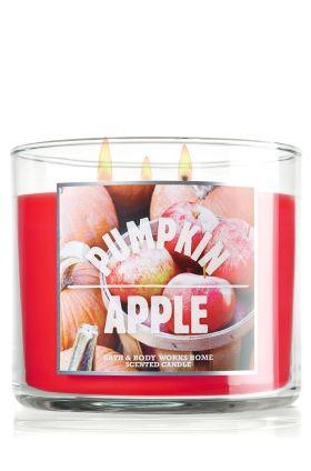 Pumpkin Apple 14.5 oz. 3-Wick Candle - Slatkin & Co. - Bath & Body Works
