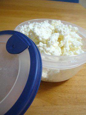 簡単手作り♪カッテージチーズ by つくしぐみ
