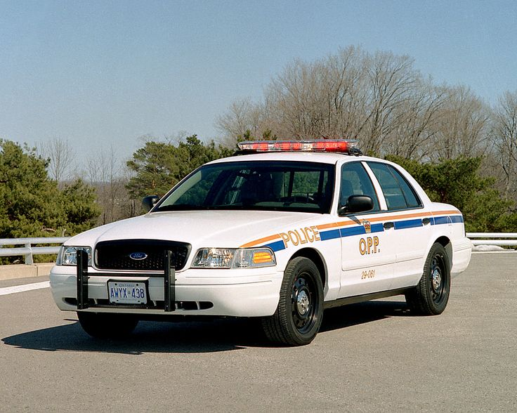 OPP Cruiser with all-white markings, 2000s