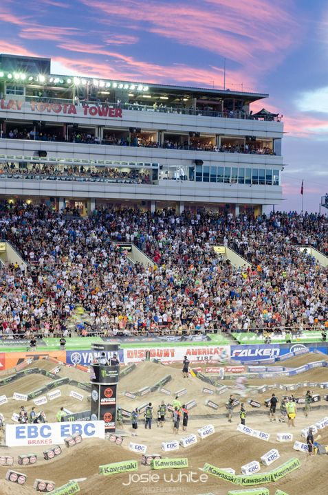 Josie White Photography, Las Vegas, NV Sam Boyd Stadium, Supercross 2014
