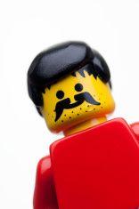 LEGO figure close up stock photo