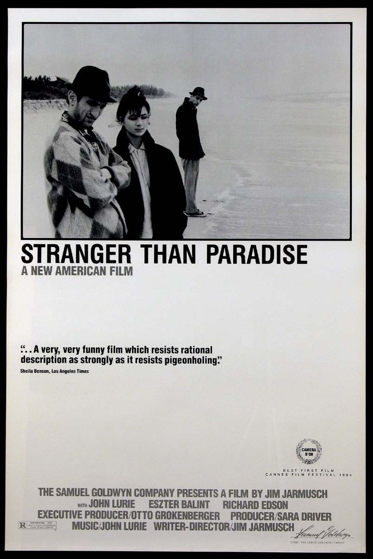 STRANGER THAN PARADISE Movie Poster (1984) || COMEDY Movie Posters   @ FilmPosters.Com - Vintage Movie Posters and More