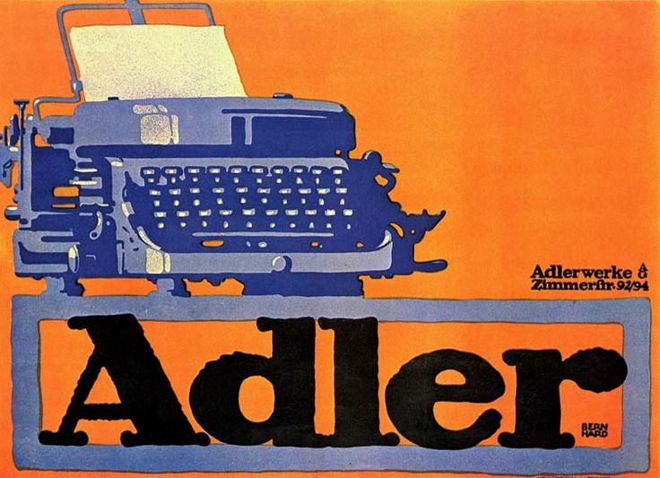 Poster de Lucien Benhard, 1905  > Exemplo de um material impresso como consequência da Revolução Industrial