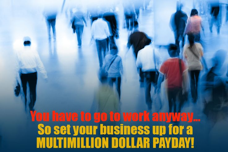 You work hard in your business anyway, so why not make the most of it and put in the systems so you can sell it for a multimillion dollar payday! Find out how to achieve this: http://streetsmartmarketing.com.au/sell-your-business/