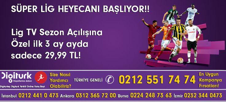 Digiturkey.com İletişim Merkezi; Digiturk Lig Tv, Televizyon, Dijital Uydu Sistemleri, Merkezi Uydu Sistemleri ve Turkcell Superonline İnternet telekomünikasyon alanlarında tanıtım ve www.digiturkey.com web sitesi ile Türkiye geneli üyelik başvuru servis organizasyon hizmetleri sunmaktadır.  http://www.digiturkey.com web ekibi olarak amacımız, her zaman hizmet servis çağrı merkezi iletişim kalitemizi bir adım ileriye taşıyarak, müşterilerimizin Tv seyir keyfini kalitesini Hd 3D 4K olarak