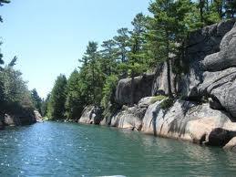 Pointe-au-Baril, Georgian Bay, Ontario, among the 30,000 Islands