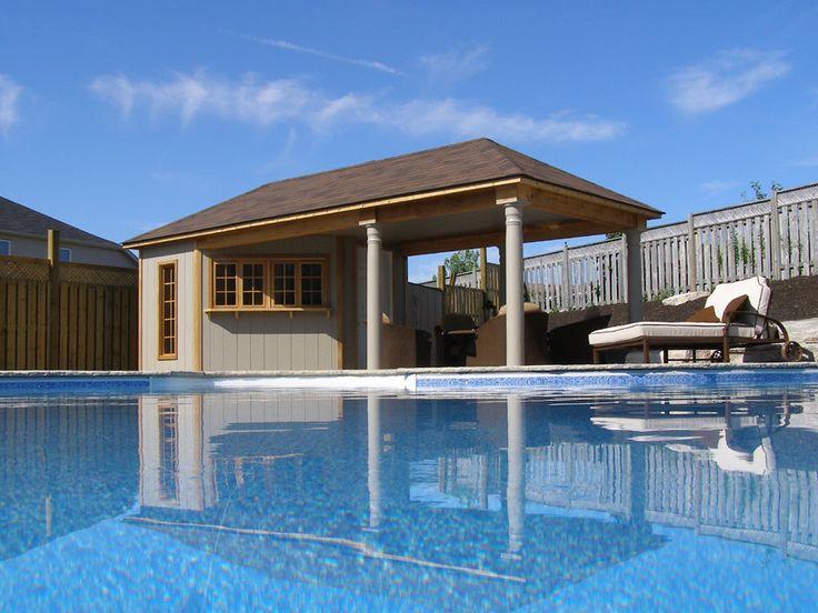 52 best Pool house ideas images on Pinterest | Backyard ideas ...