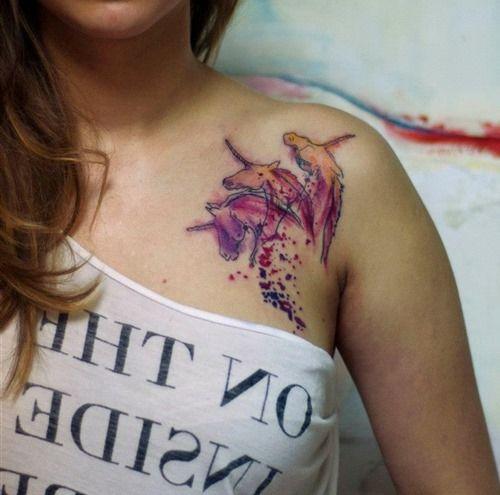 Watercolor Tattoo Artist Koray Karagözler (1)