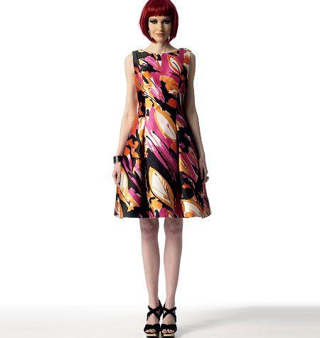 Vogue 1348 Misses/Misses Petite Dress