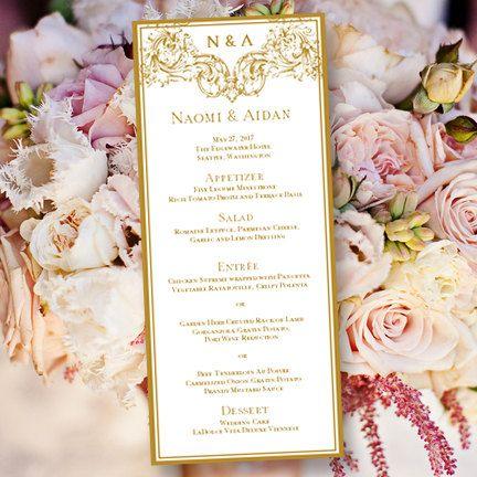 Best 25+ Wedding menu template ideas on Pinterest Wedding dinner - microsoft word restaurant menu template