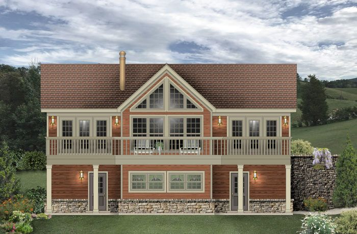 Arctic Loon Garage House Plans Sloping Lot House Plan Carriage House Plans