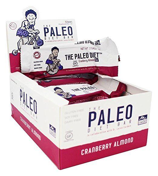 Cranberry Almond Bar, 12 Bars, 2,5 Unzen (72 g) Jeder - Die Paleo-Diät-Bar