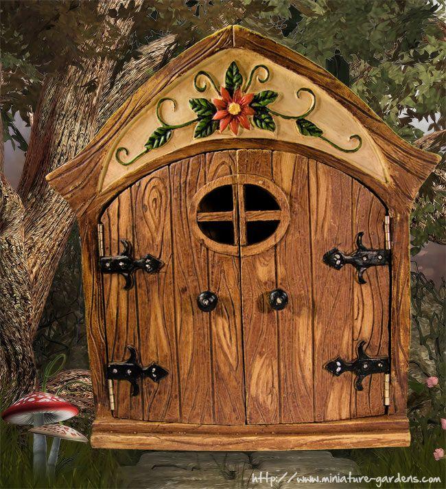Fairy door in garden images galleries for Fairy door with fairy