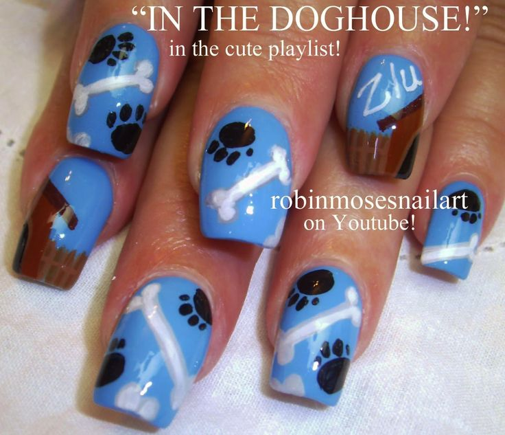 Animal Nail Art: 17 Best Ideas About Dog Nails On Pinterest