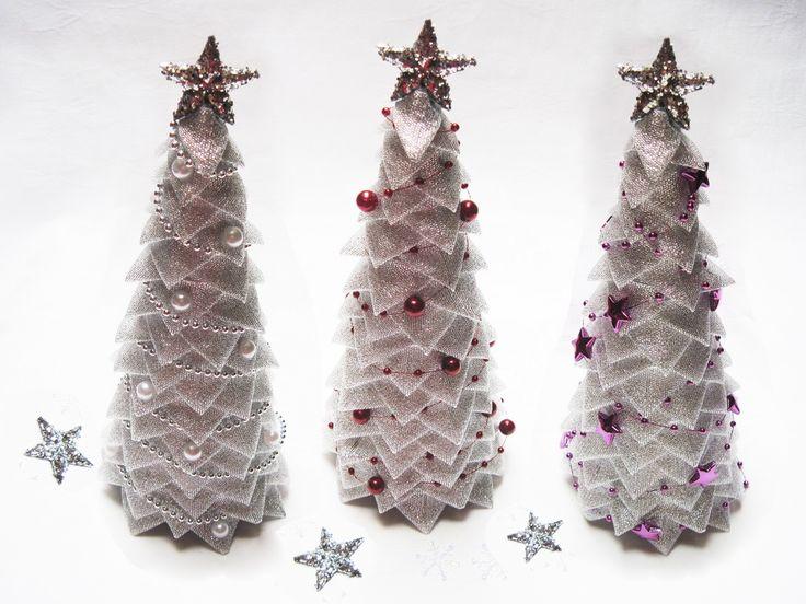 Návod na vánoční stromeček - nešitý patchwork 16