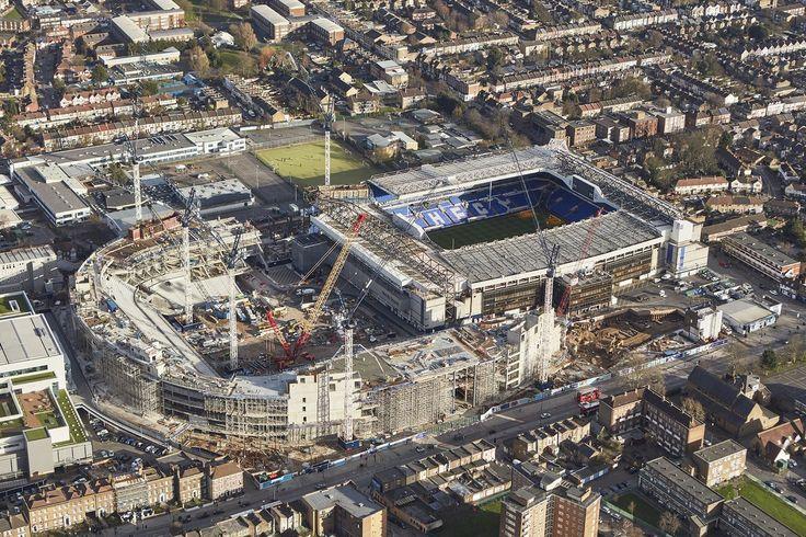 Tottenham Hotspur,White Hart Lane,Building new stadium. Taken 7/3/2017.
