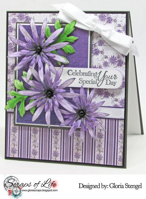Scraps of Life: Emma Lou's Birthday Blog Hop