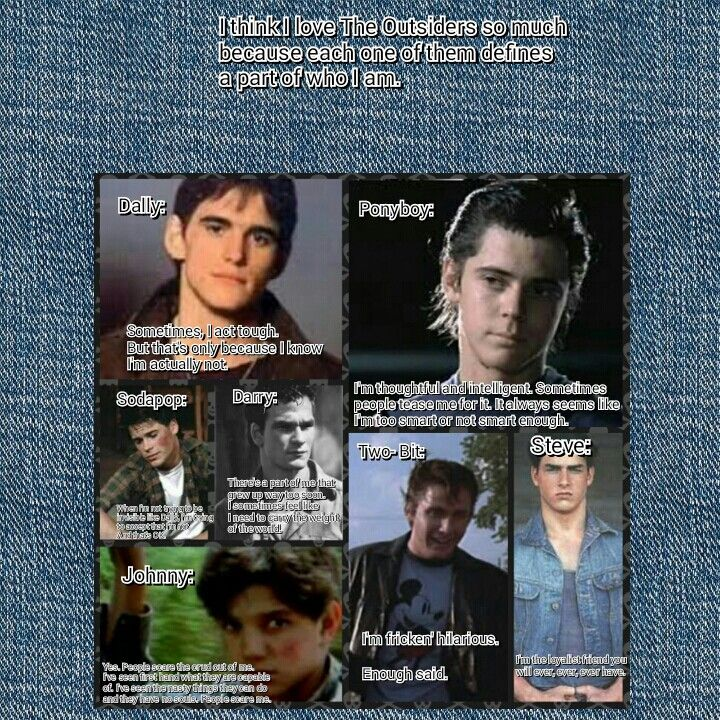 Famous Quotes From The Outsiders Movie: 133 Best Images About The Outsiders Quotes On Pinterest