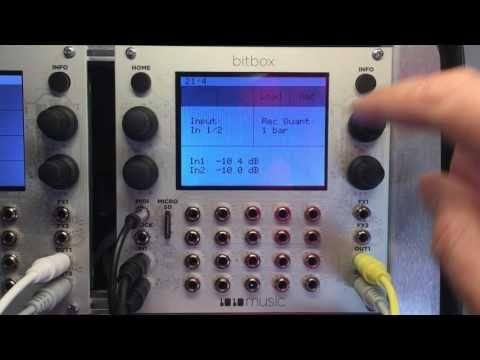 Bitbox Recording - YouTube