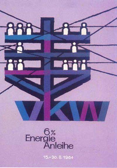 Energie Anleihe by  Karl Barbach (1958)