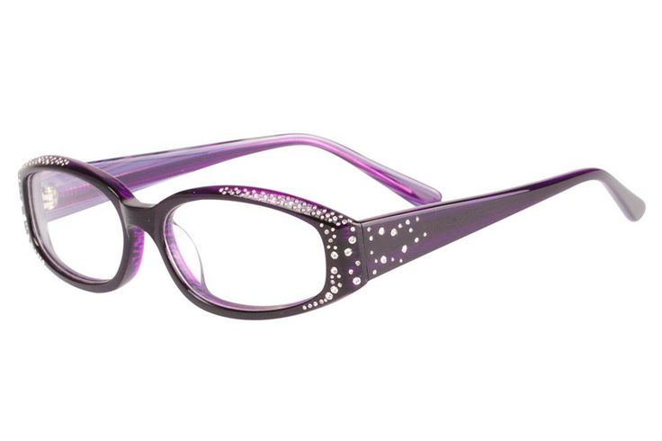 Dolce And Gabbana Purple Glasses