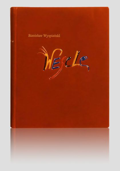 """""""Wesele - Die Hochzeit"""" - """"The Wedding""""  Stanisław Wyspiański Fine books & handbindings. http://www.kurtiak-ley.com/wyspianski-stanislaw-wesele-die-hochzeit/ . Ekskluzywne książki artystyczne. Ręczne oprawy w skórę. http://www.kurtiak-ley.pl/wyspianski-stanislaw-wesele-die-hochzeit/."""