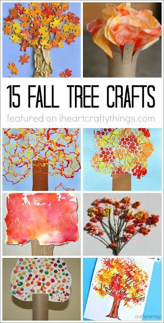 I HEART CRAFTY THINGS: 15 Fabulous Fall Tree Crafts
