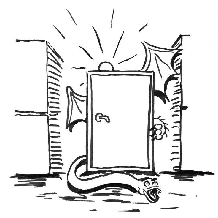 Den magiska dörren - Josef Sahlin