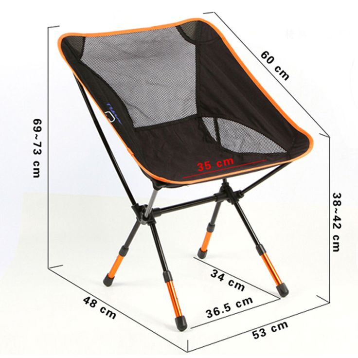 Folding Seat Stool Portable Chair Outdoor Fis… « Cool Camping Gear