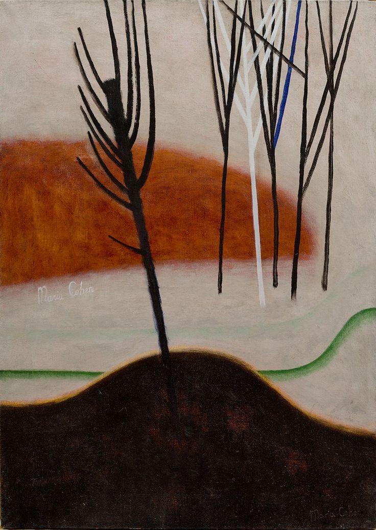 Composition 4; oil on canvas, 2017